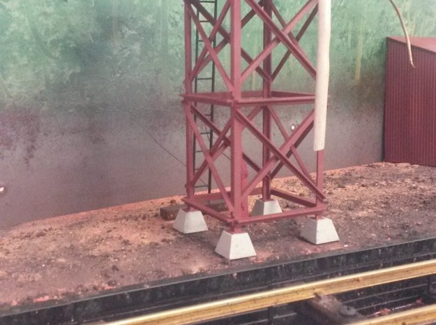 Victorian Railways Whitfield water tank 3d printed