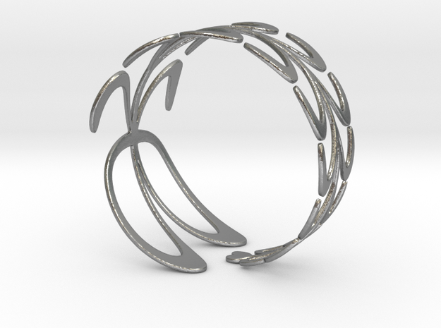 Ficoni Bracelet in Natural Silver