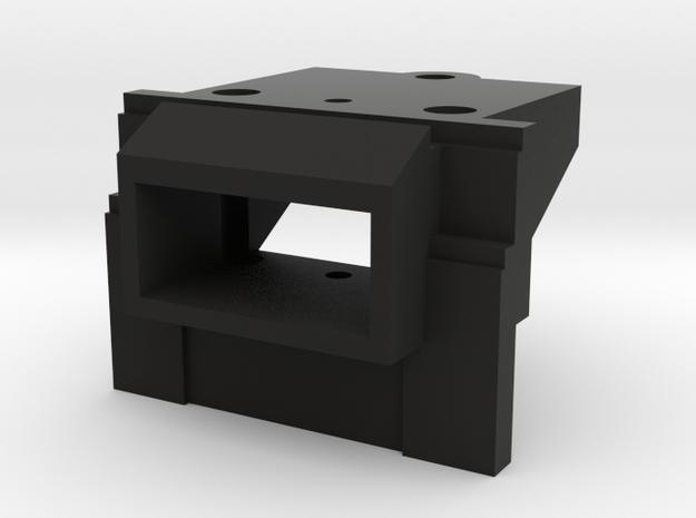Atlas O Scale EMD GP7 & GP9 Coupler Mount (Solid) in Black Natural Versatile Plastic