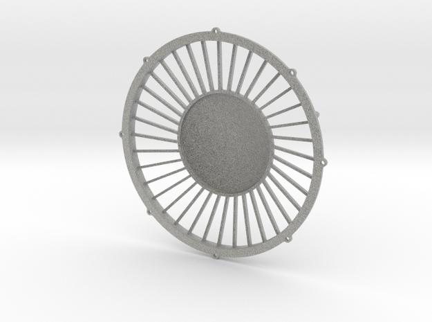"""48"""" dynamic fan grille in 1.6"""" scale"""