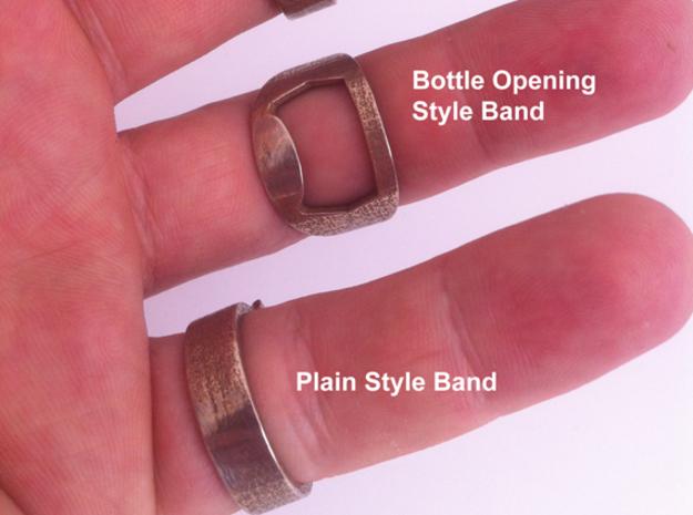 Rebel Alliance Star Wars Ring - Bottle Opener band 3d printed