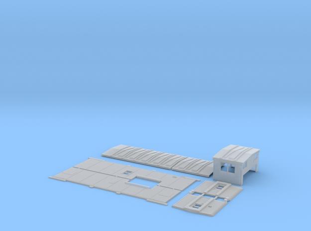 MP 13515-13574 Rebuilt Caboose Body Kit