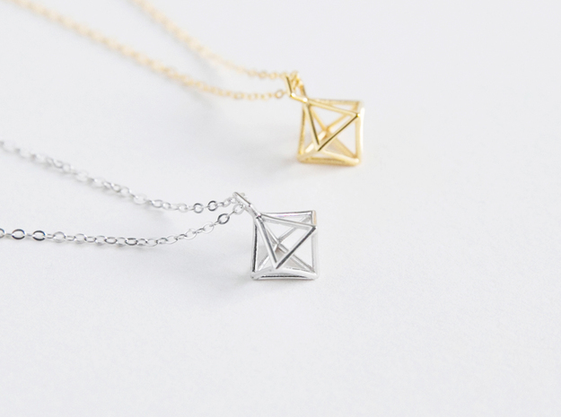 Geometric Necklace #S