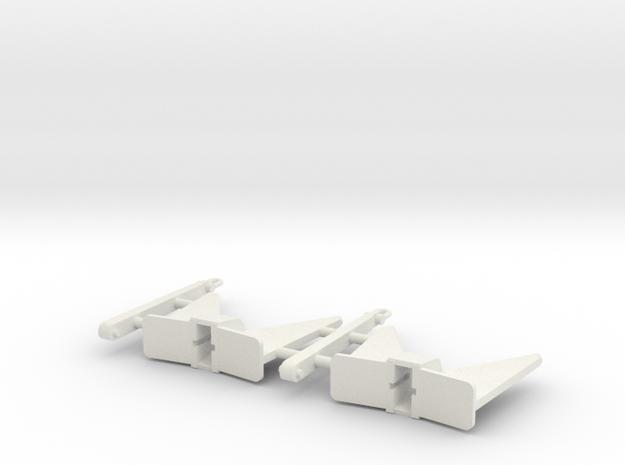 Pool TW Anker 360 Kg (2pcs) in White Strong & Flexible