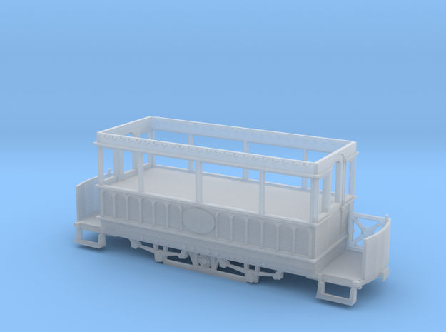 OO scale Giant's Causeway tram 2 for motorising in Smooth Fine Detail Plastic