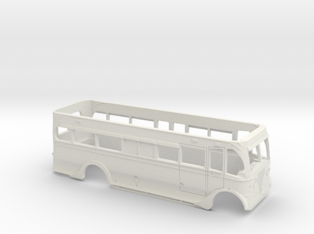 Blackpool Leyland Titan PD25 Lower Deck Shell in White Strong & Flexible