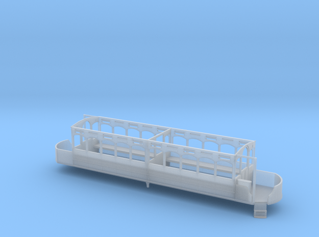 Blackpool Lancaster Lower Deck Unmodified OO scale in Smooth Fine Detail Plastic: 1:76 - OO