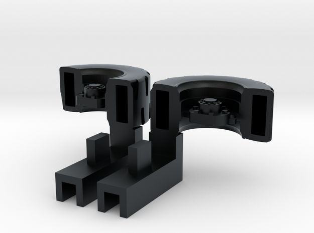Ultra Magnus Arm Wheels (Deep Version) - For High  in Black Hi-Def Acrylate