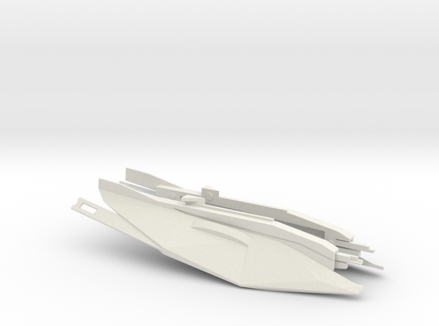 Alliance Destroyer  in White Natural Versatile Plastic