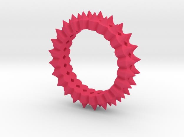 Chun-Li Street Fighter Bracelet in Pink Processed Versatile Plastic