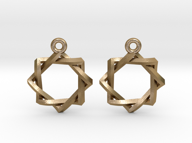 Penrose Melchizedek Symbol Earrings