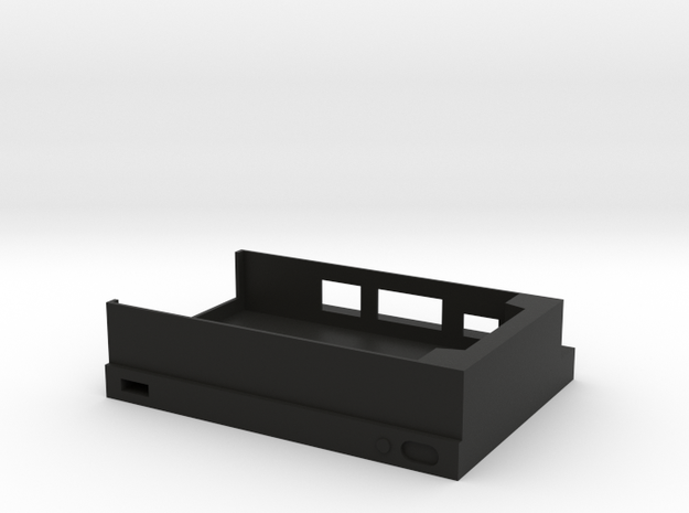 Raspberry Pi Xbox One S Case(Bottom) in Black Strong & Flexible