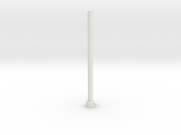 TK Grappling Hook Main Shaft in White Strong & Flexible