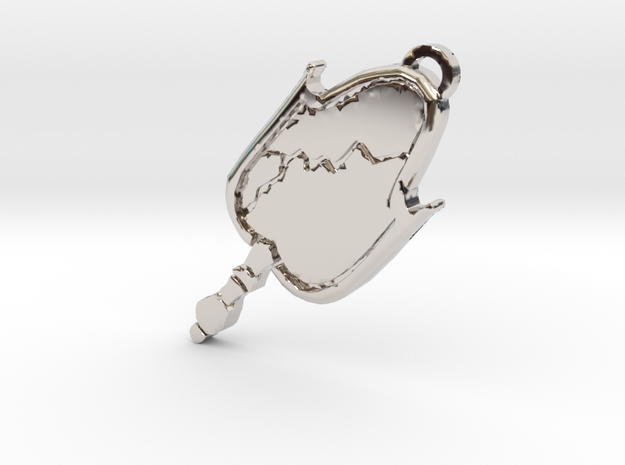 Malcavian Pendant Vampire Masqurade Style (VTM) in Rhodium Plated