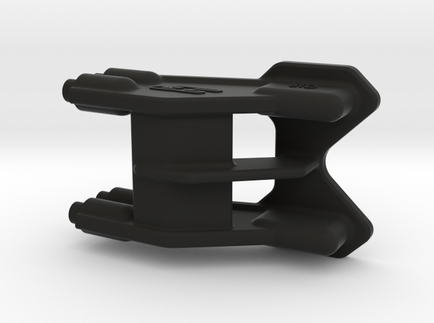 2616 - B6 | B6D REAR One-Piece WING MOUNT 3D in Black Natural Versatile Plastic