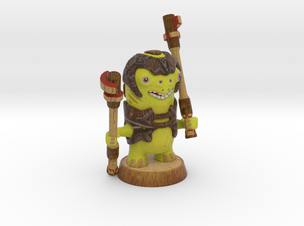 BUMBLING WARRIOR in Full Color Sandstone