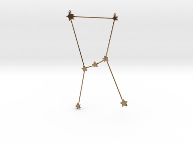 Zodiac Orion in Natural Brass