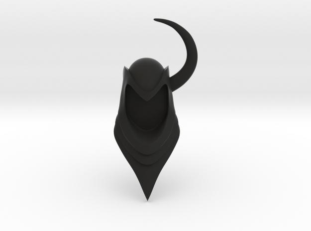 D&D Venger Helmet in Black Strong & Flexible