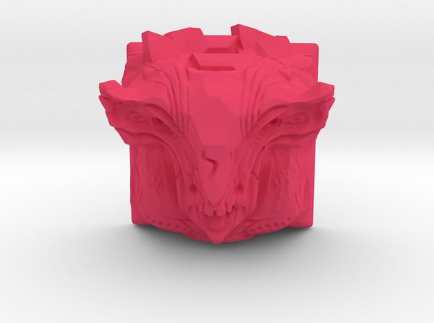 Golem Keycap (Cherry MX DSA) in Pink Processed Versatile Plastic