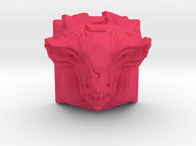 Golem Keycap (Topre DSA) in Pink Strong & Flexible Polished