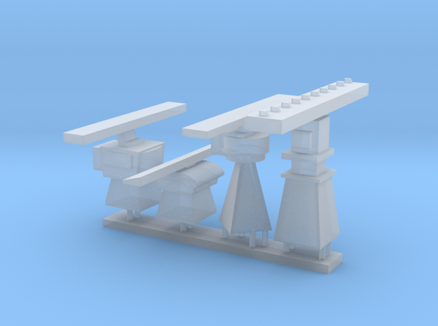 1/96 scale Generic Radar Set in Smooth Fine Detail Plastic