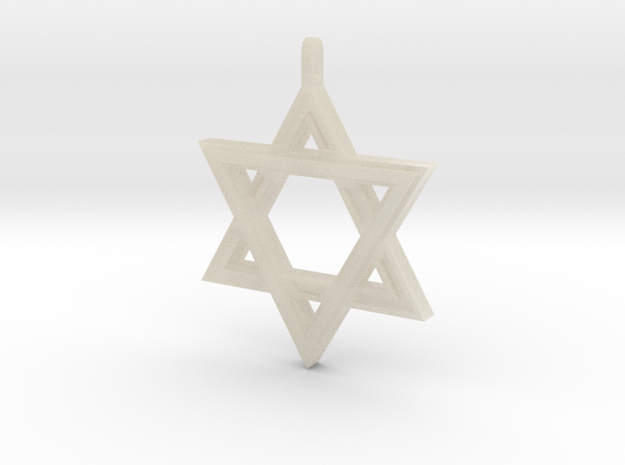 Star Of David #2 3d printed