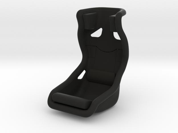 Race Seat - HM - 1/10 in Black Natural Versatile Plastic