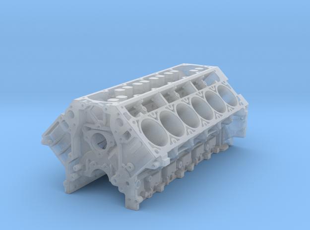 Ls3 V12 Block 1/18 in Smooth Fine Detail Plastic