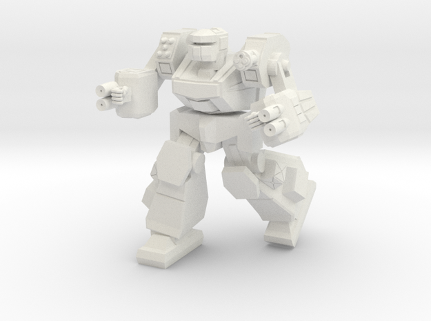 Kodiak Battlesuit in White Natural Versatile Plastic
