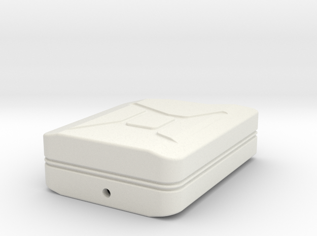 Jerry Can Body  1 To10 in White Natural Versatile Plastic