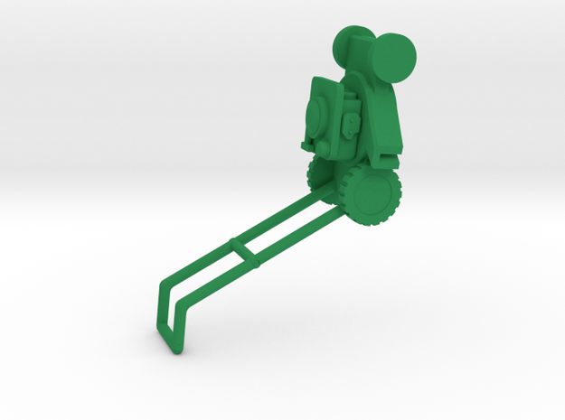 Rasenmäher  lawnmower 1:32 in Green Processed Versatile Plastic