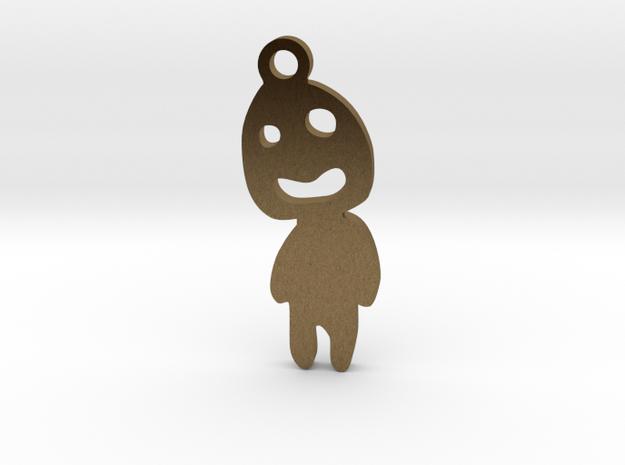 Kodama 03 in Raw Bronze