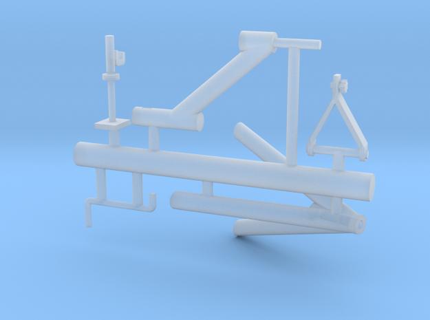 M2 mount for guntruck HMMWV (1/35) in Smooth Fine Detail Plastic