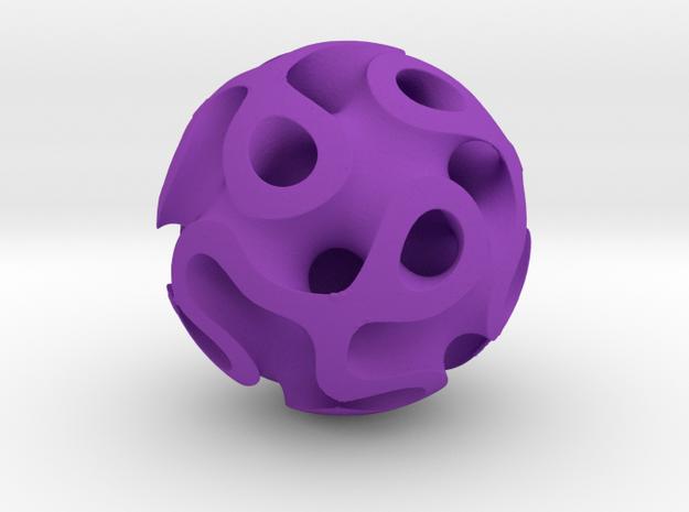 Orb Four in Purple Processed Versatile Plastic