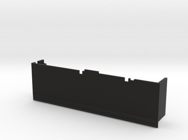 CMAX+XJ Left Lower Tray in Black Natural Versatile Plastic