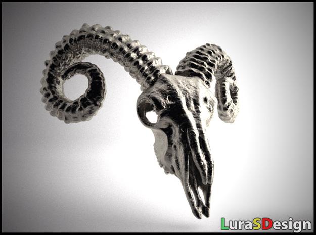 Large Ram Skull - Pendant