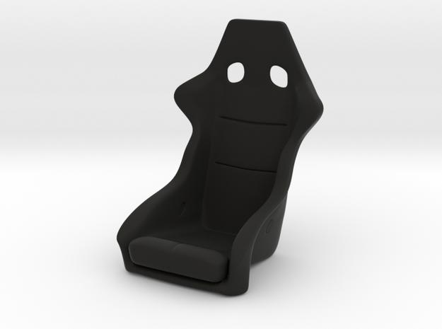 Race Seat - RType 1 - 1/10 in Black Natural Versatile Plastic