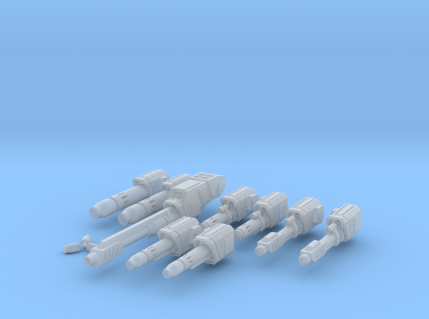 WoB Ballistic Weapon Pack A in Smooth Fine Detail Plastic