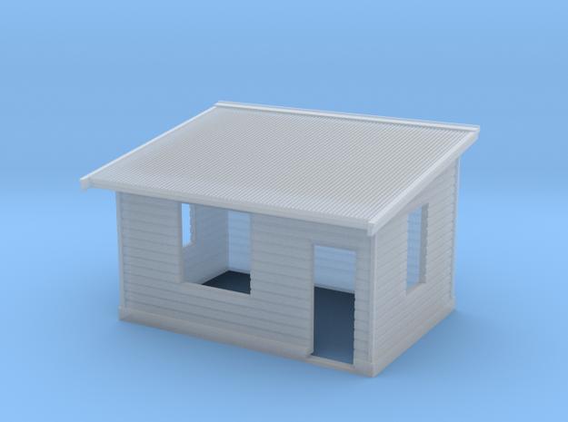 N Scale NSWR Platform Level Signal Box - RH Door in Smoothest Fine Detail Plastic