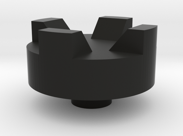 DMS switch knob - Castle in Black Natural Versatile Plastic
