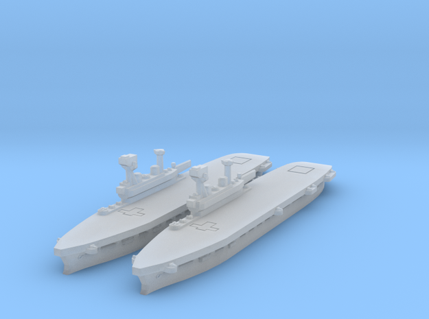 HMS Eagle in Smooth Fine Detail Plastic