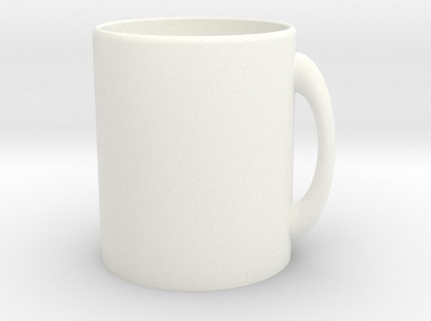 Customizable Mug in White Strong & Flexible Polished