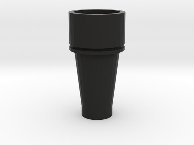 John Bull Smokestack (HO Scale) in Black Natural Versatile Plastic: 1:87 - HO