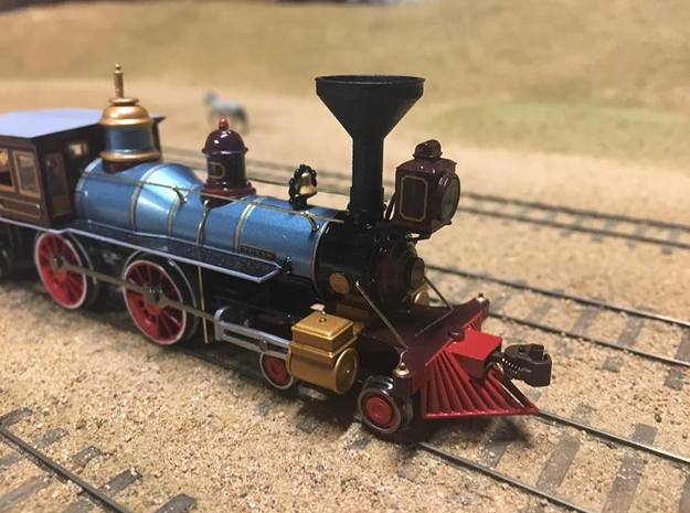 Bachmann 4-4-0 Sunflower Smokestack (HO Scale) in Smooth Fine Detail Plastic