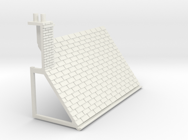 Z-87-lr-comp-l2r-level-roof-lc-lj in White Natural Versatile Plastic