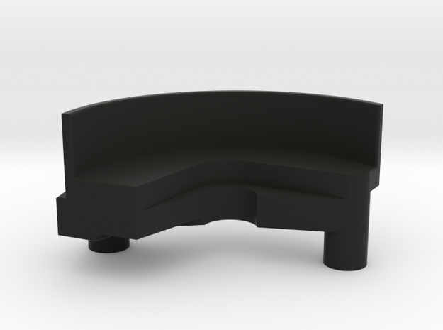 AE B6 Spur Cover in Black Natural Versatile Plastic