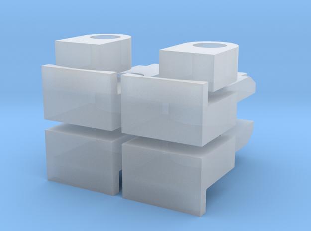 Getriebeteile AST1-X 6X6 in Smoothest Fine Detail Plastic