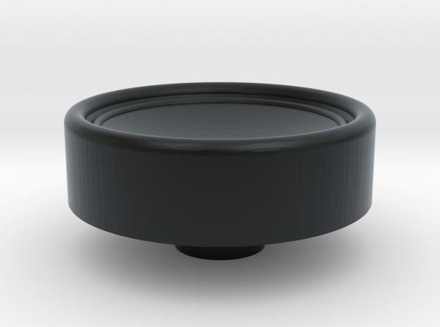Russian HAT knob in Black Hi-Def Acrylate