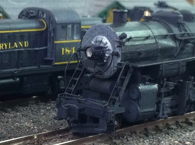 N Scale WM H-9 Pilot in Smooth Fine Detail Plastic
