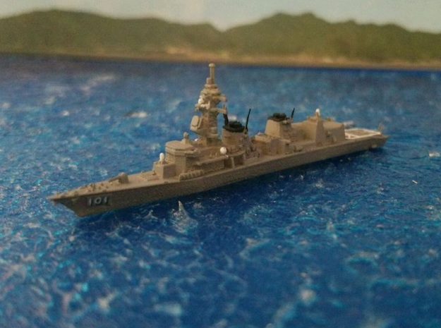 1/2000 JS Murasame-class destroyer in Smooth Fine Detail Plastic